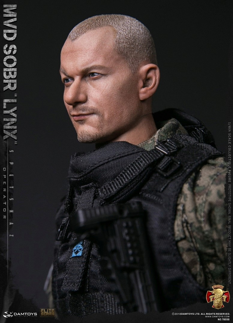 NEW PRODUCT: DAMTOYS : 1/6 RUSSIAN SPETSNAZ MVD - SOBR LYNX Action Figure (78058#) 15130010