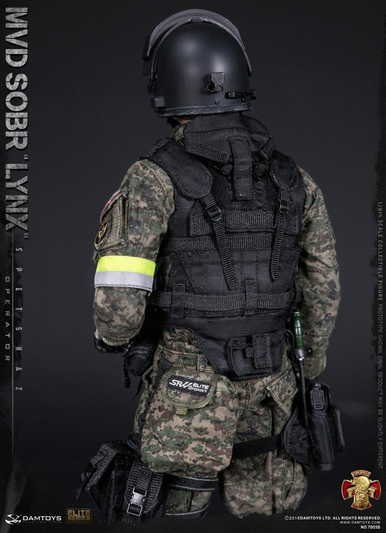 NEW PRODUCT: DAMTOYS : 1/6 RUSSIAN SPETSNAZ MVD - SOBR LYNX Action Figure (78058#) 15130011