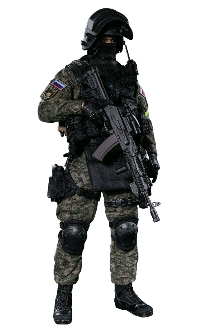 NEW PRODUCT: DAMTOYS : 1/6 RUSSIAN SPETSNAZ MVD - SOBR LYNX Action Figure (78058#) 15131011