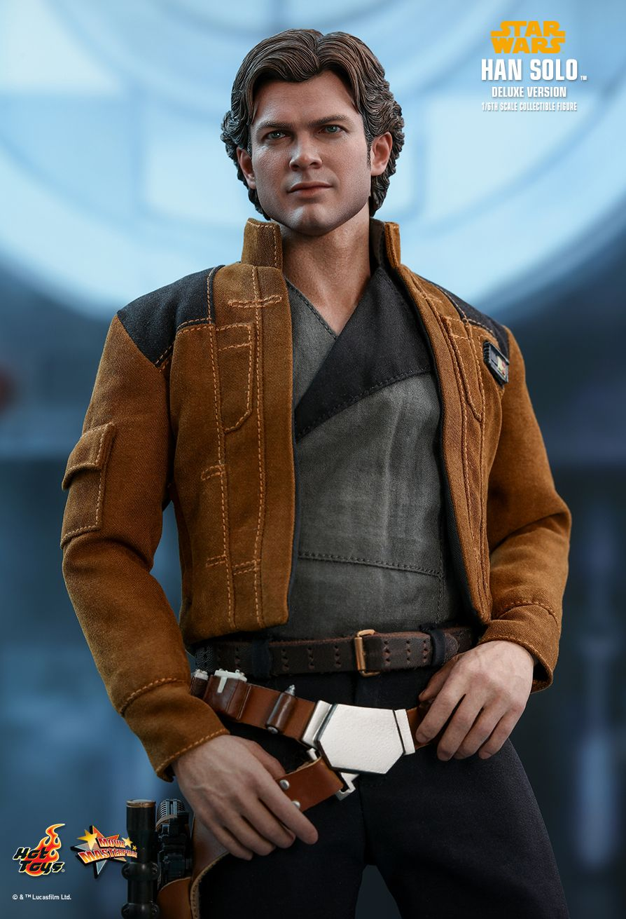 NEW PRODUCT: HOT TOYS: SOLO: A STAR WARS STORY HAN SOLO (TWO VERSIONS) 1/6TH SCALE COLLECTIBLE FIGURE 1523