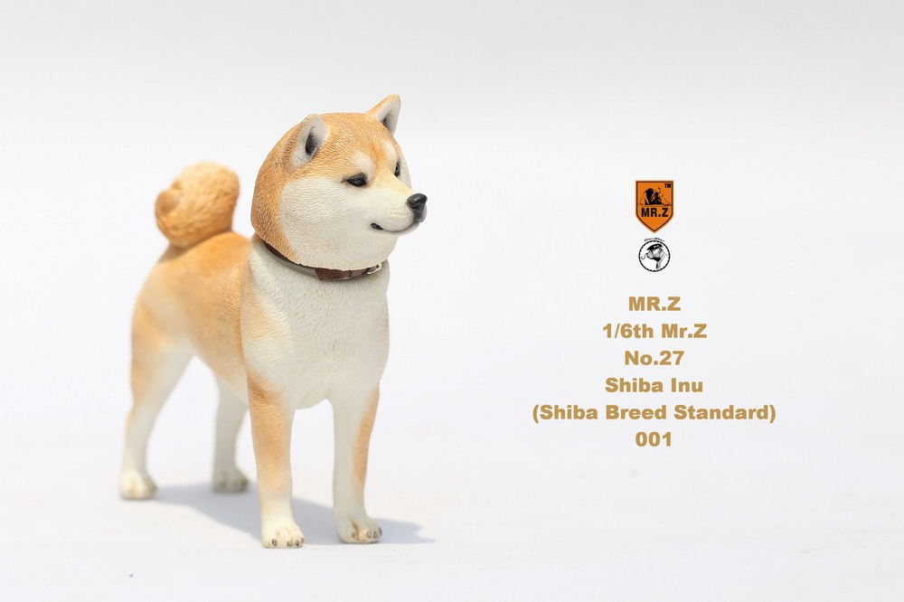 NEW PRODUCT: Mr.Z 1/6 Animal Model No. 27: Japanese shiba Inu X 3 155