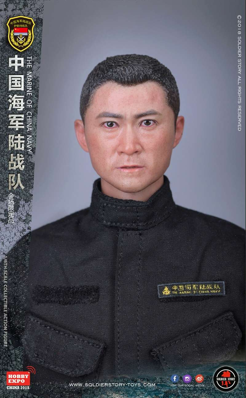modern - NEW PRODUCT: SoldierStory: 1/6 The MARINE of CHINA NAVY -HOBB YEXPO 2018 16005911