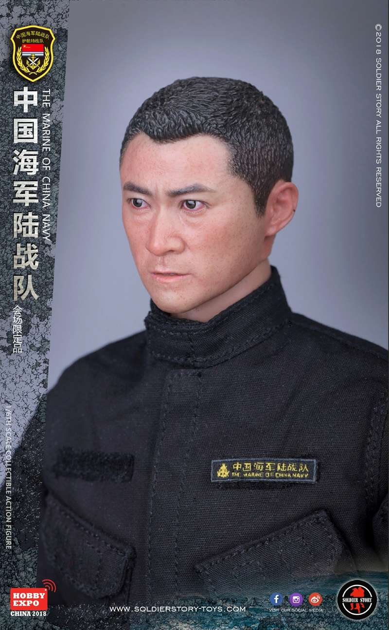 modern - NEW PRODUCT: SoldierStory: 1/6 The MARINE of CHINA NAVY -HOBB YEXPO 2018 16010010