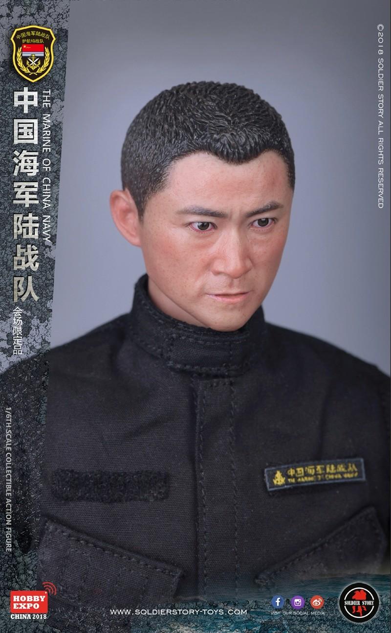 modern - NEW PRODUCT: SoldierStory: 1/6 The MARINE of CHINA NAVY -HOBB YEXPO 2018 16010110