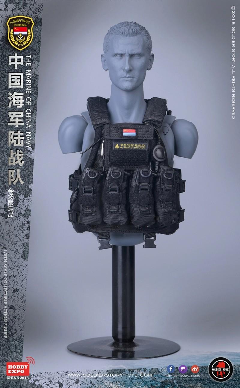 modern - NEW PRODUCT: SoldierStory: 1/6 The MARINE of CHINA NAVY -HOBB YEXPO 2018 16010210