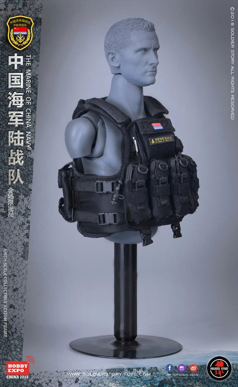 modern - NEW PRODUCT: SoldierStory: 1/6 The MARINE of CHINA NAVY -HOBB YEXPO 2018 16010410