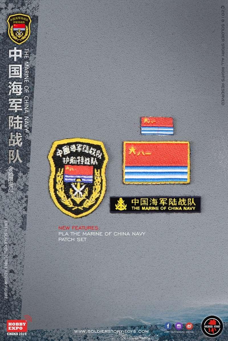 modern - NEW PRODUCT: SoldierStory: 1/6 The MARINE of CHINA NAVY -HOBB YEXPO 2018 16011010