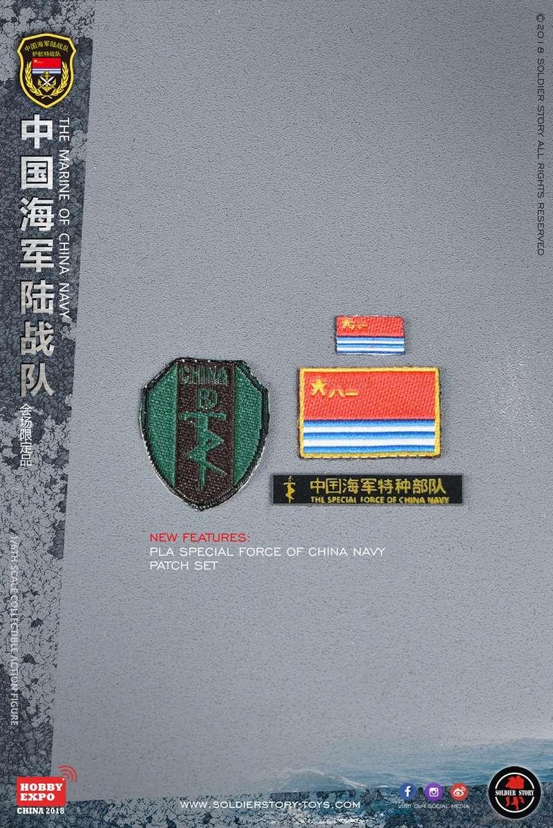 modern - NEW PRODUCT: SoldierStory: 1/6 The MARINE of CHINA NAVY -HOBB YEXPO 2018 16011110