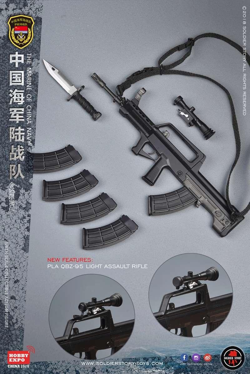 modern - NEW PRODUCT: SoldierStory: 1/6 The MARINE of CHINA NAVY -HOBB YEXPO 2018 16011410