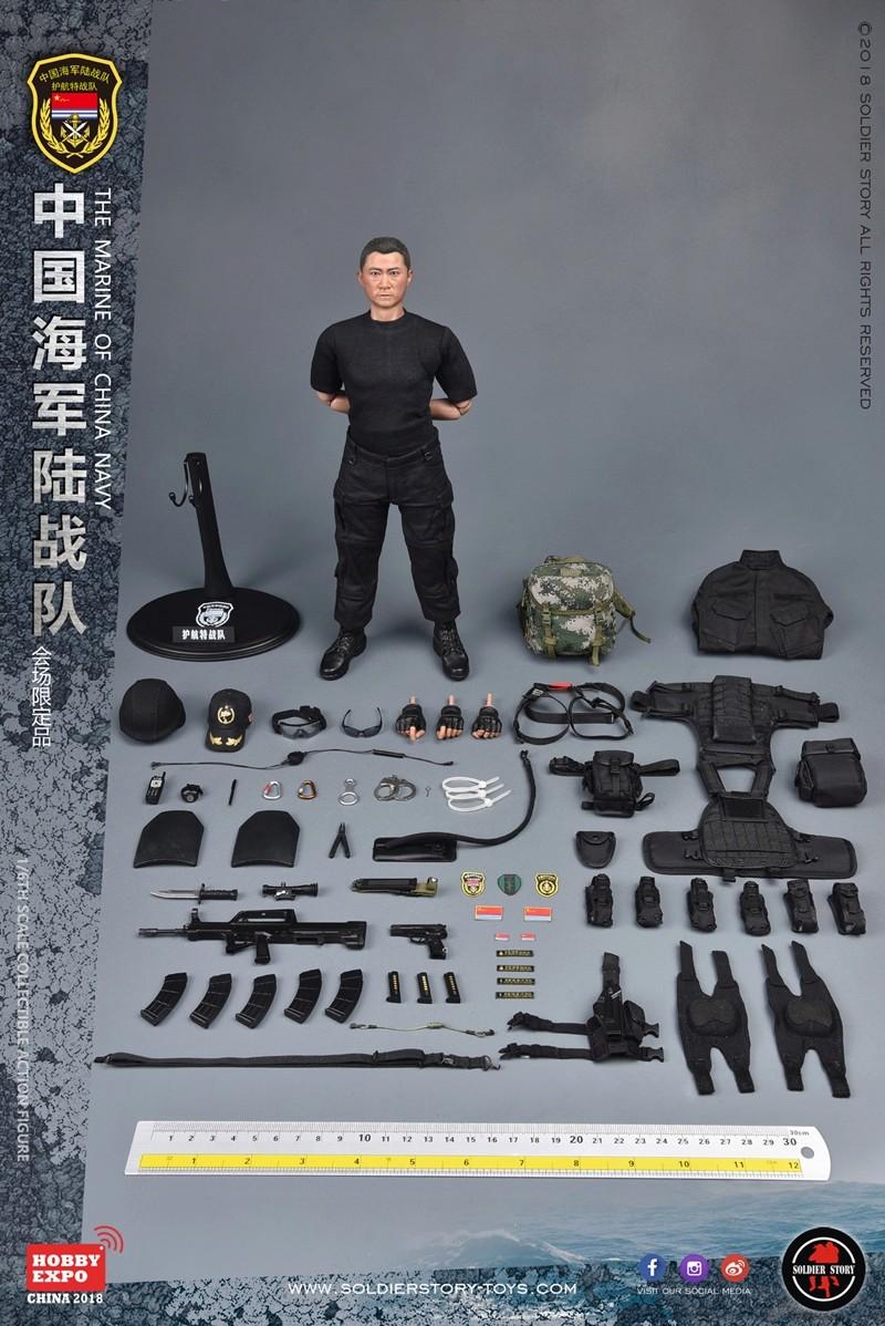 modern - NEW PRODUCT: SoldierStory: 1/6 The MARINE of CHINA NAVY -HOBB YEXPO 2018 16011511
