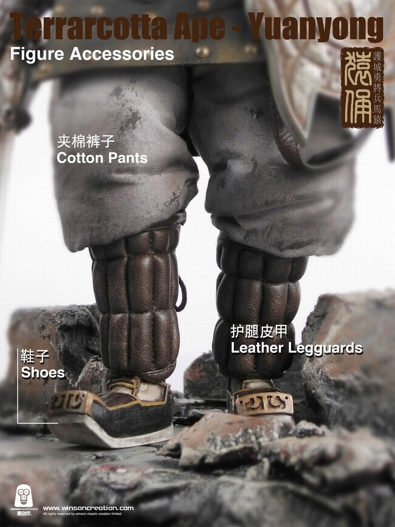 NEW PRODUCT: 猿 猿 新品 :: 1/6 Guardian of the City - Terracotta Warriors and Horses 猿俑 Action Figures 16211910