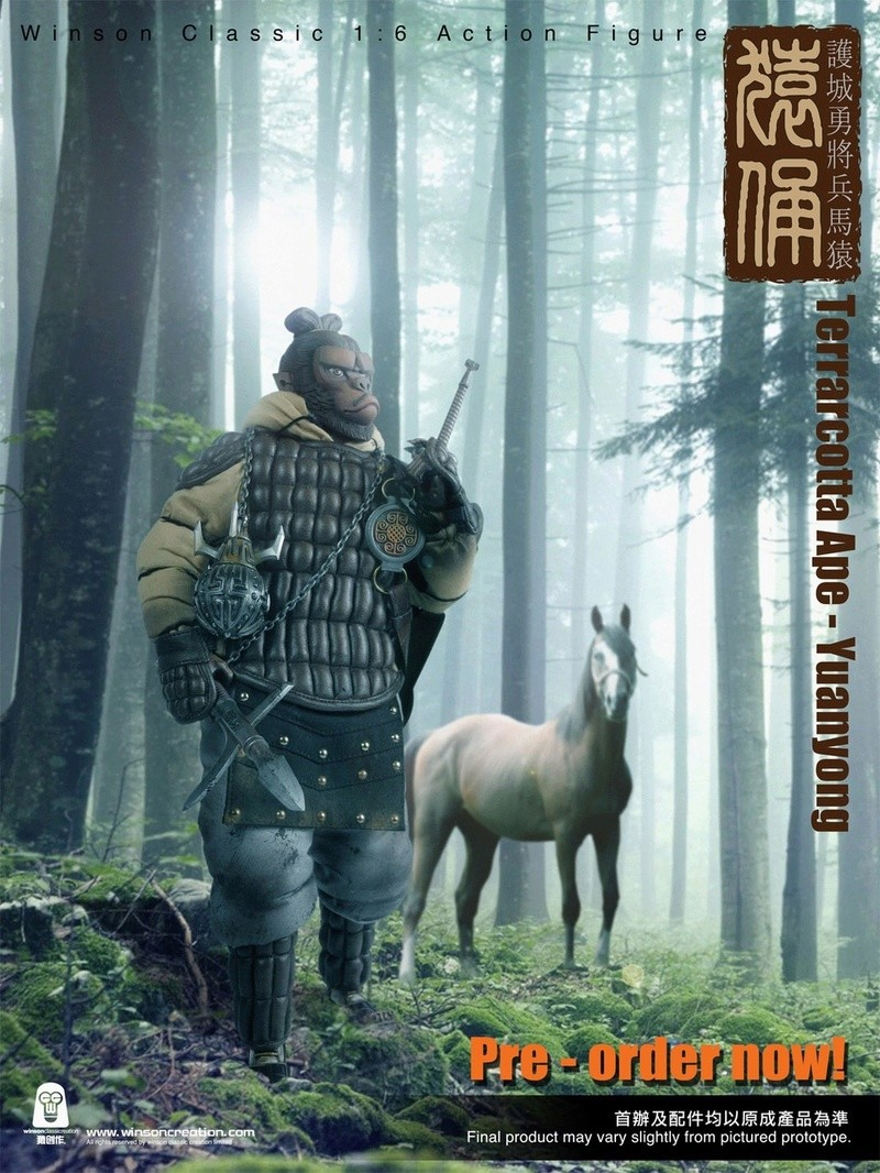 NEW PRODUCT: 猿 猿 新品 :: 1/6 Guardian of the City - Terracotta Warriors and Horses 猿俑 Action Figures 16212510