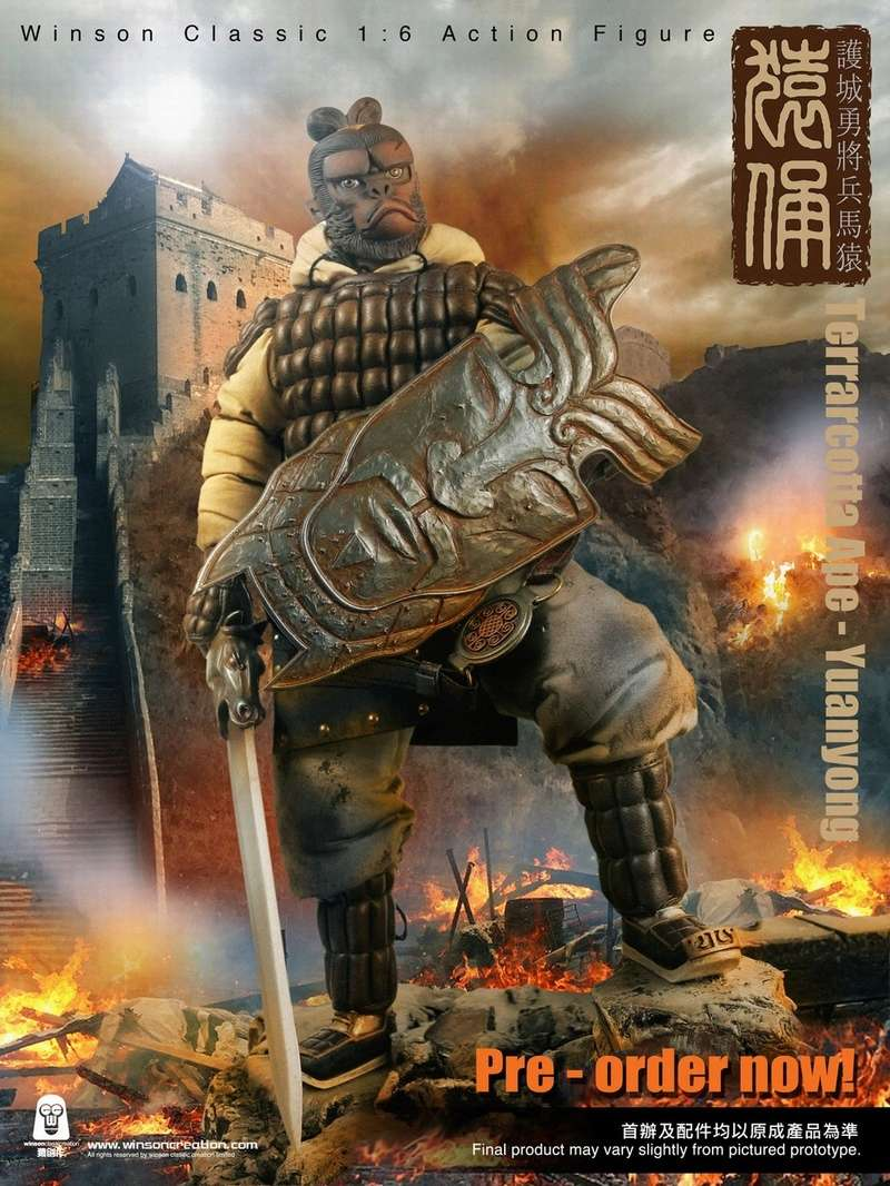 NEW PRODUCT: 猿 猿 新品 :: 1/6 Guardian of the City - Terracotta Warriors and Horses 猿俑 Action Figures 16212610
