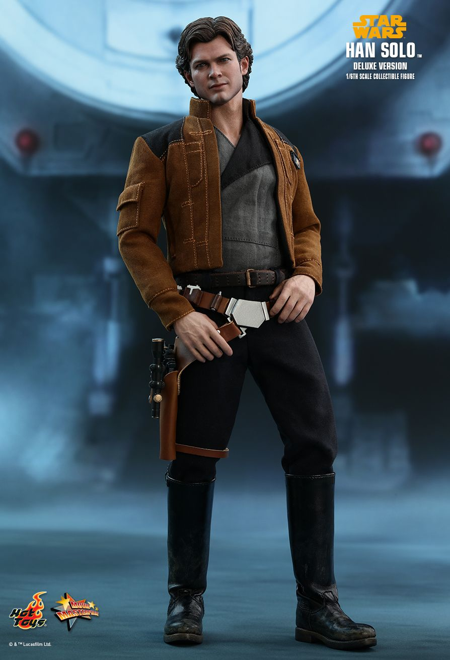 NEW PRODUCT: HOT TOYS: SOLO: A STAR WARS STORY HAN SOLO (TWO VERSIONS) 1/6TH SCALE COLLECTIBLE FIGURE 1622