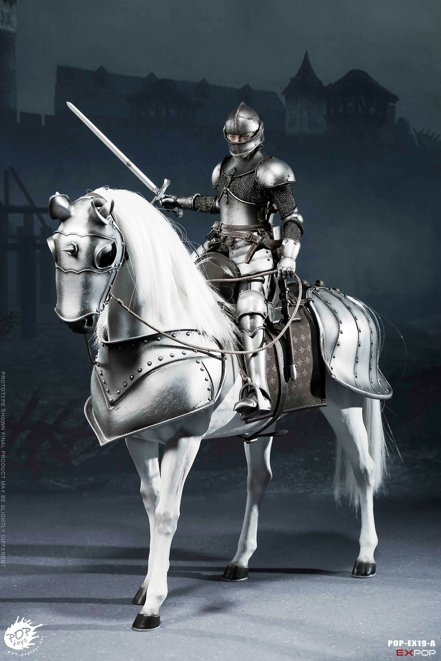 NEW PRODUCT: POPTOYS New Products: 1/6 St. Knights - Assault Edition & Triumph Edition & Iron Armor (POP-EX19 ABC) 16391910