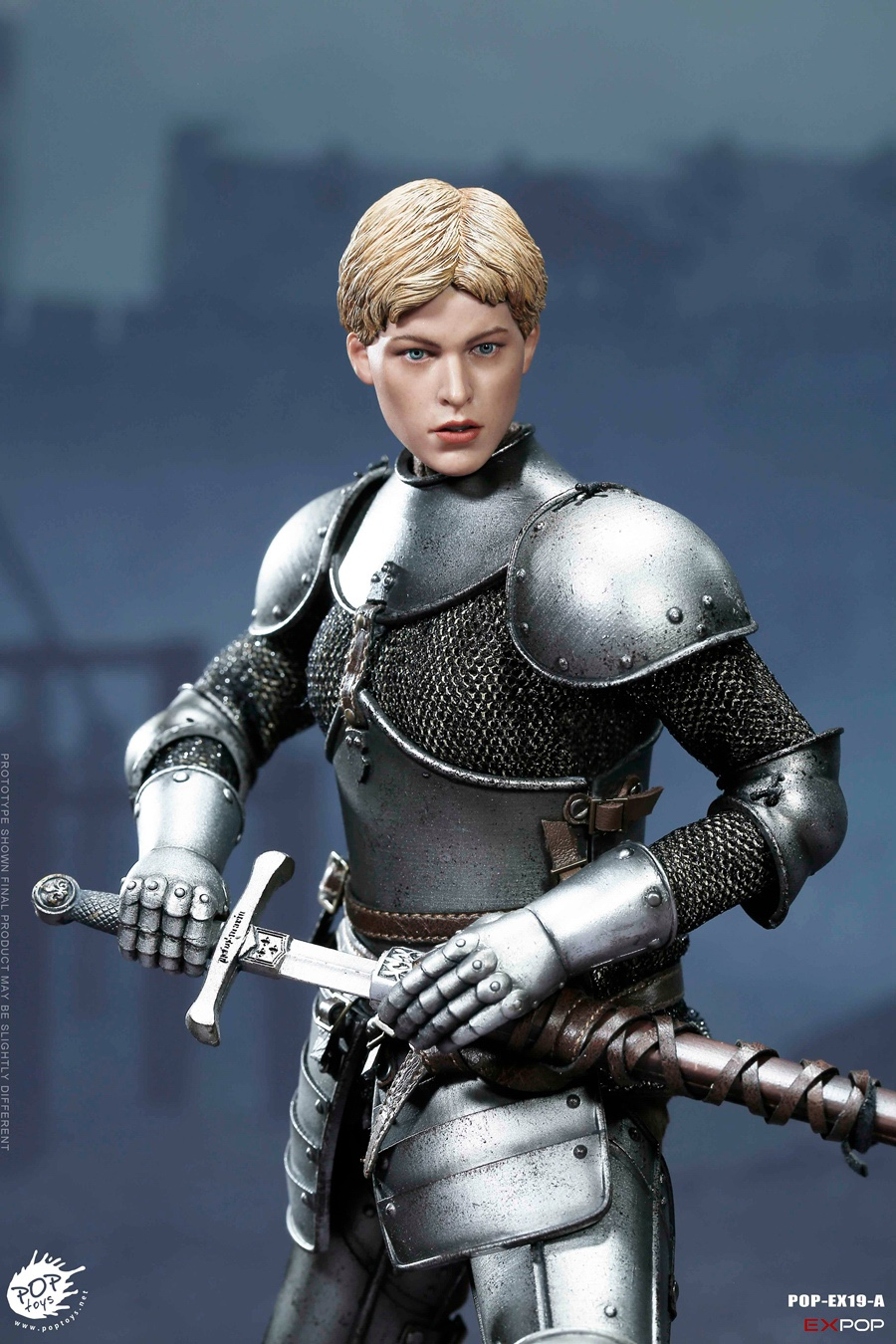 NEW PRODUCT: POPTOYS New Products: 1/6 St. Knights - Assault Edition & Triumph Edition & Iron Armor (POP-EX19 ABC) 16392110