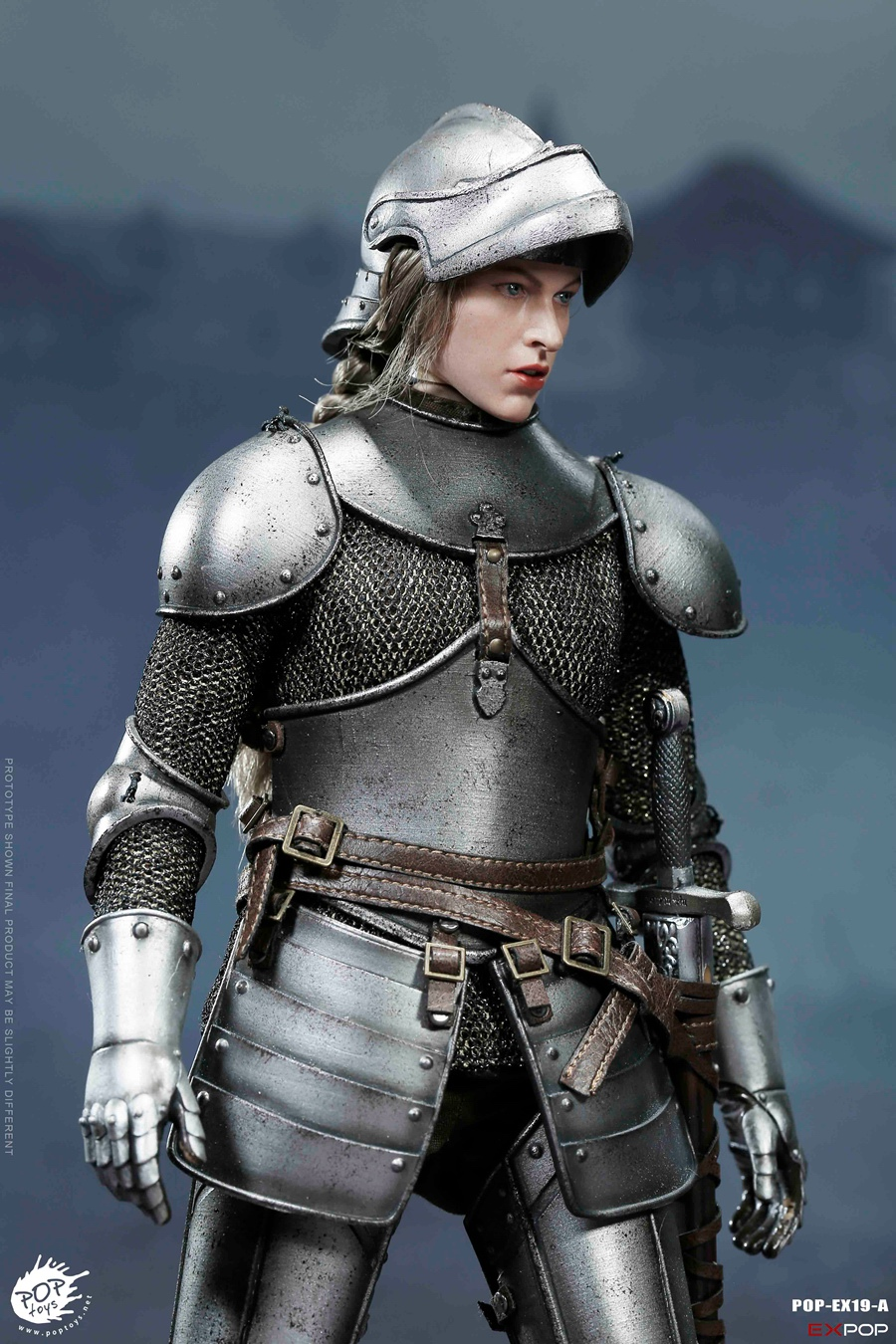 NEW PRODUCT: POPTOYS New Products: 1/6 St. Knights - Assault Edition & Triumph Edition & Iron Armor (POP-EX19 ABC) 16392111