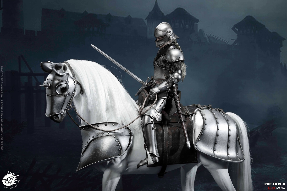 knight - NEW PRODUCT: POPTOYS New Products: 1/6 St. Knights - Assault Edition & Triumph Edition & Iron Armor (POP-EX19 ABC) 16392211