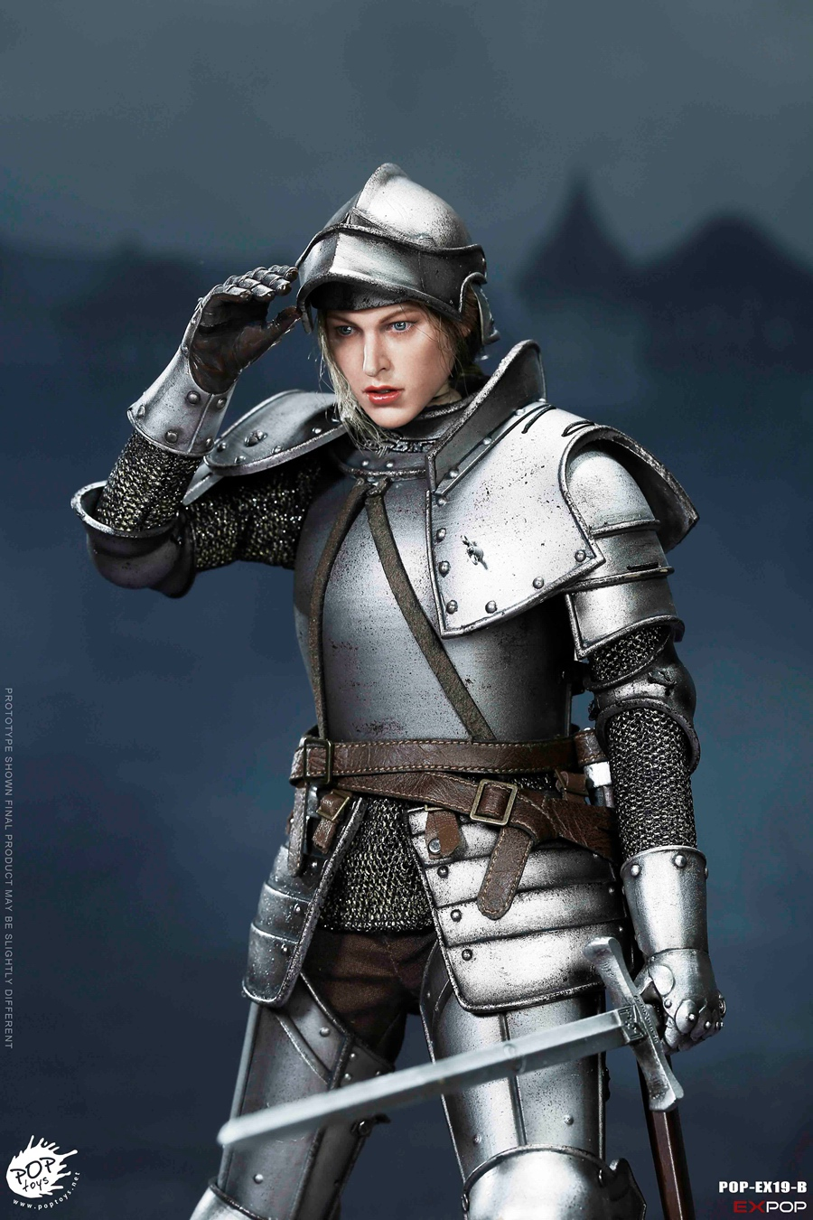 NEW PRODUCT: POPTOYS New Products: 1/6 St. Knights - Assault Edition & Triumph Edition & Iron Armor (POP-EX19 ABC) 16461310