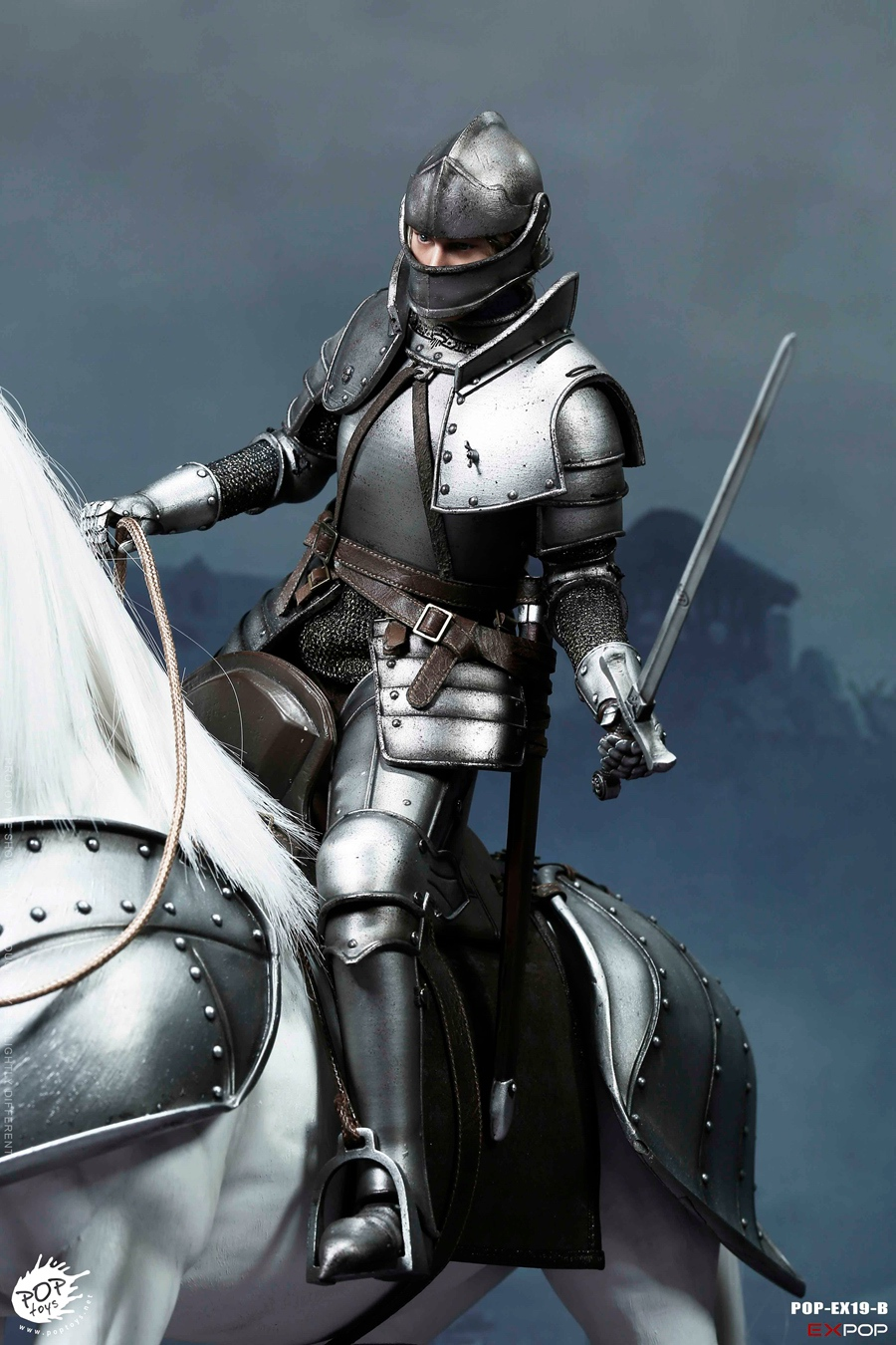 NEW PRODUCT: POPTOYS New Products: 1/6 St. Knights - Assault Edition & Triumph Edition & Iron Armor (POP-EX19 ABC) 16461410