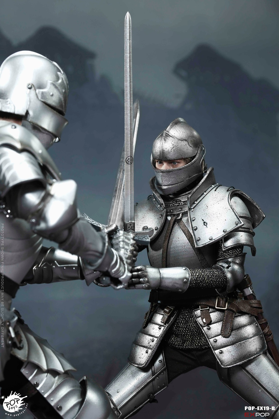 NEW PRODUCT: POPTOYS New Products: 1/6 St. Knights - Assault Edition & Triumph Edition & Iron Armor (POP-EX19 ABC) 16461411