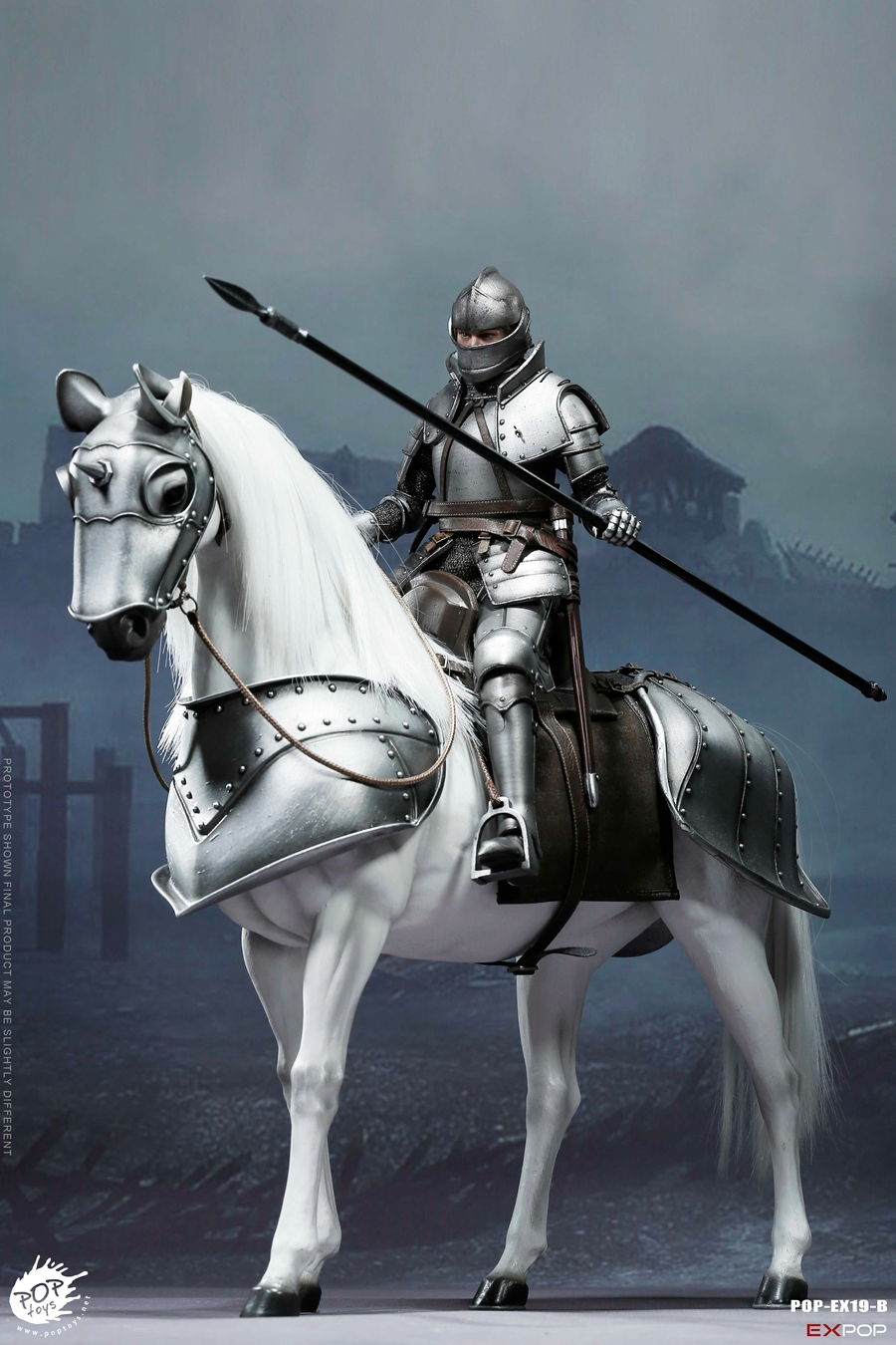 NEW PRODUCT: POPTOYS New Products: 1/6 St. Knights - Assault Edition & Triumph Edition & Iron Armor (POP-EX19 ABC) 16461510