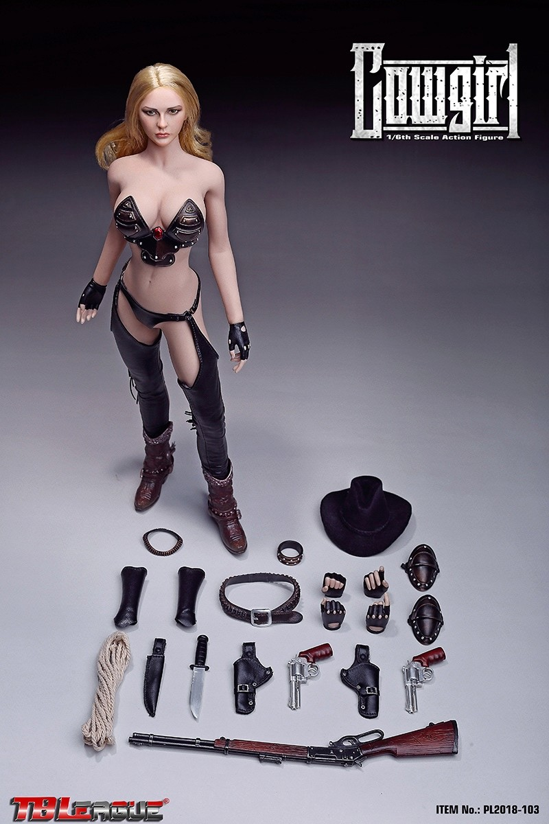 NEW PRODUCT: TBLeague: 1/6 Western Cowgirl (PL2018-103#) 16490910