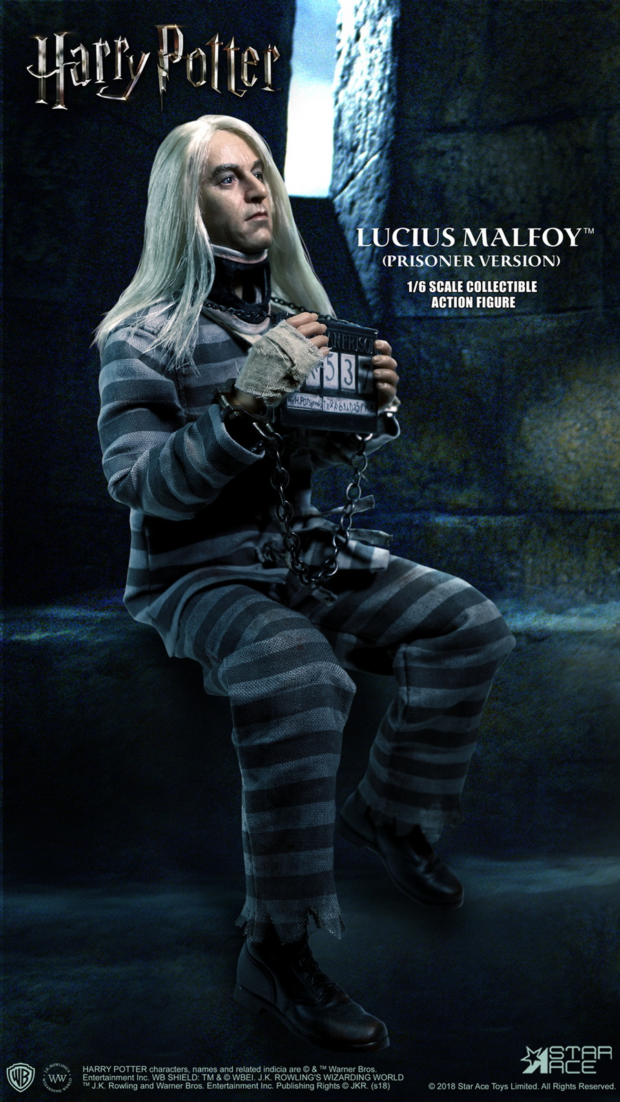 NEW PRODUCT: Star Ace Toys New: 1/6 Harry Potter and the Half-Blood Prince - Lucius Prisoner Edition (SA0040) 16511210