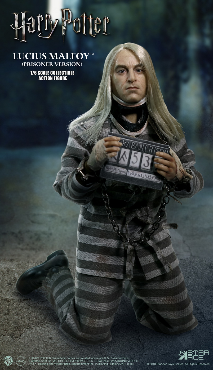 NEW PRODUCT: Star Ace Toys New: 1/6 Harry Potter and the Half-Blood Prince - Lucius Prisoner Edition (SA0040) 16511510