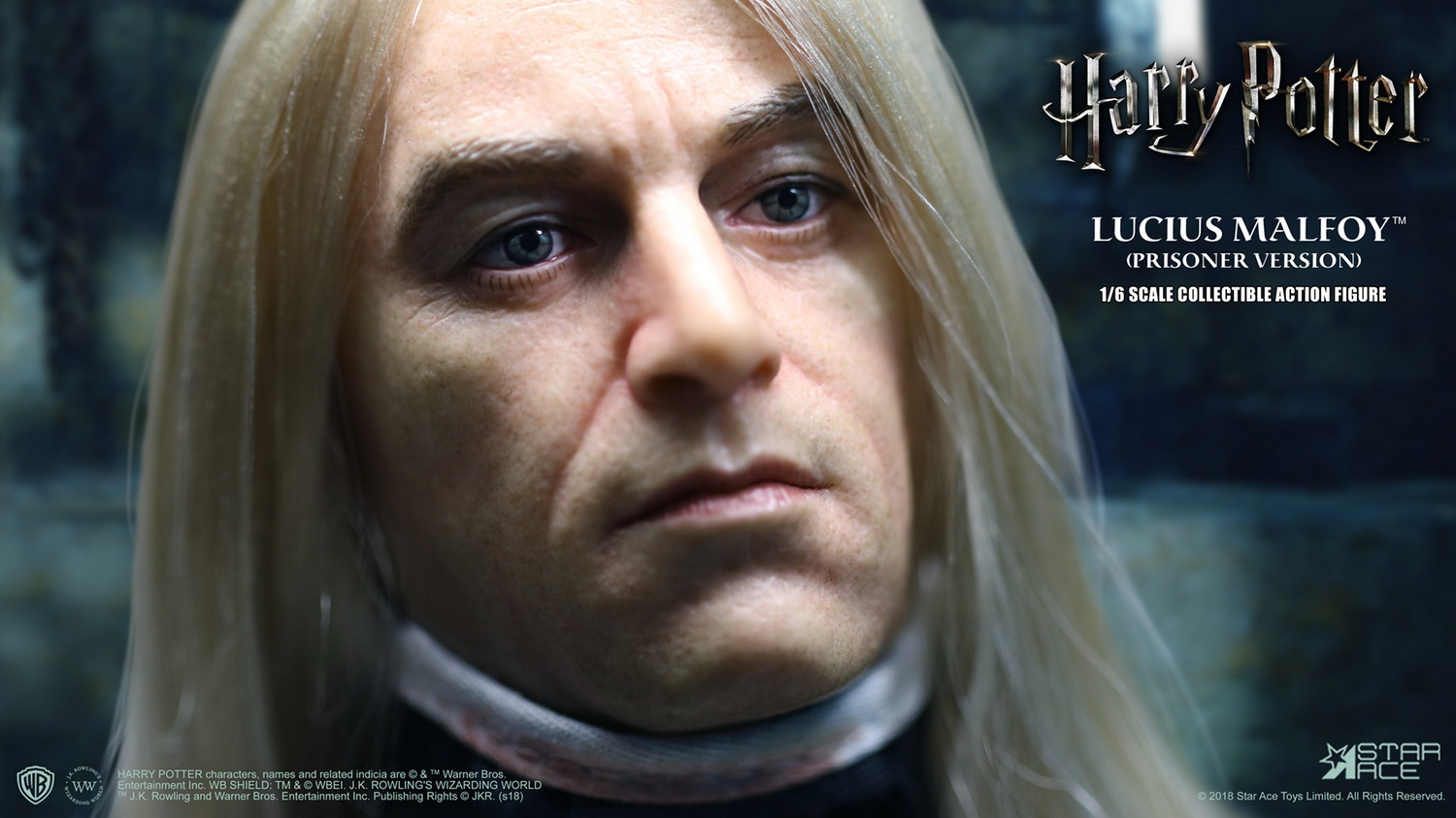 NEW PRODUCT: Star Ace Toys New: 1/6 Harry Potter and the Half-Blood Prince - Lucius Prisoner Edition (SA0040) 16511710