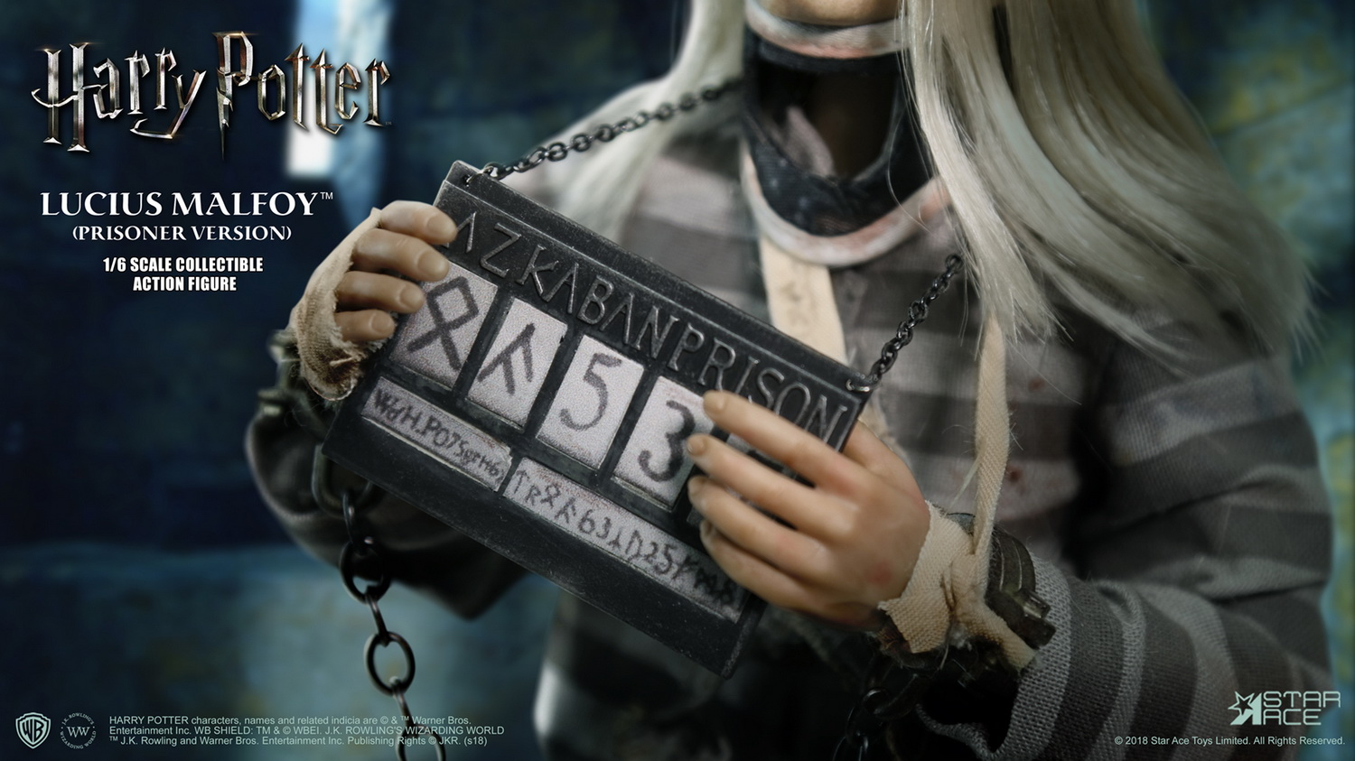 NEW PRODUCT: Star Ace Toys New: 1/6 Harry Potter and the Half-Blood Prince - Lucius Prisoner Edition (SA0040) 16511910