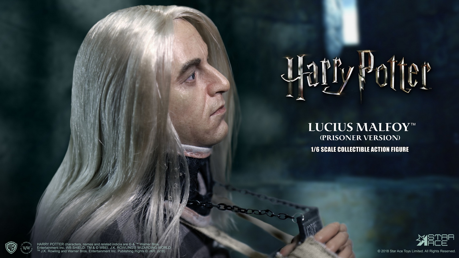 NEW PRODUCT: Star Ace Toys New: 1/6 Harry Potter and the Half-Blood Prince - Lucius Prisoner Edition (SA0040) 16512510