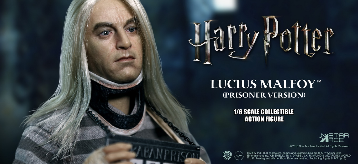 NEW PRODUCT: Star Ace Toys New: 1/6 Harry Potter and the Half-Blood Prince - Lucius Prisoner Edition (SA0040) 16512710