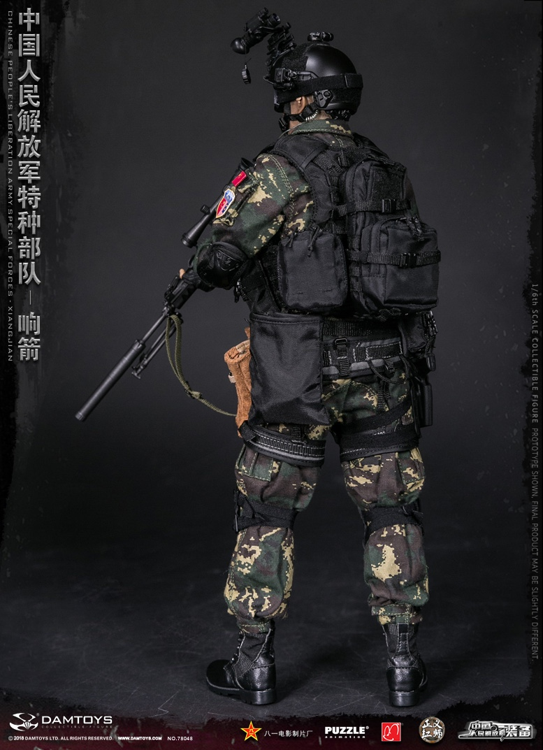 "Army - NEW PRODUCT: DAMTOYS New Products: 1/6 Special Forces of the People's Liberation Army of China - ""Singing Arrows"" Moving Figures (78048#) 17061511"