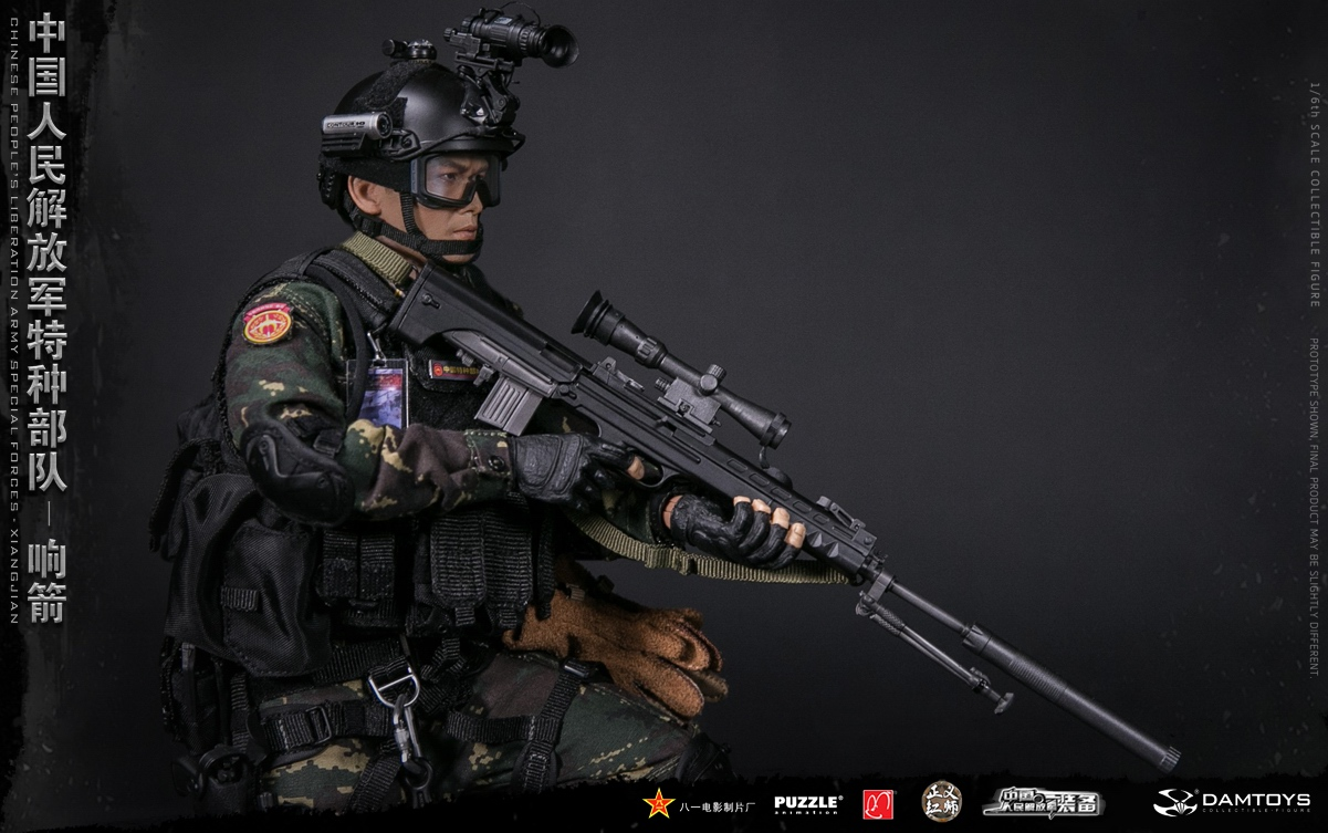 "Army - NEW PRODUCT: DAMTOYS New Products: 1/6 Special Forces of the People's Liberation Army of China - ""Singing Arrows"" Moving Figures (78048#) 17061911"
