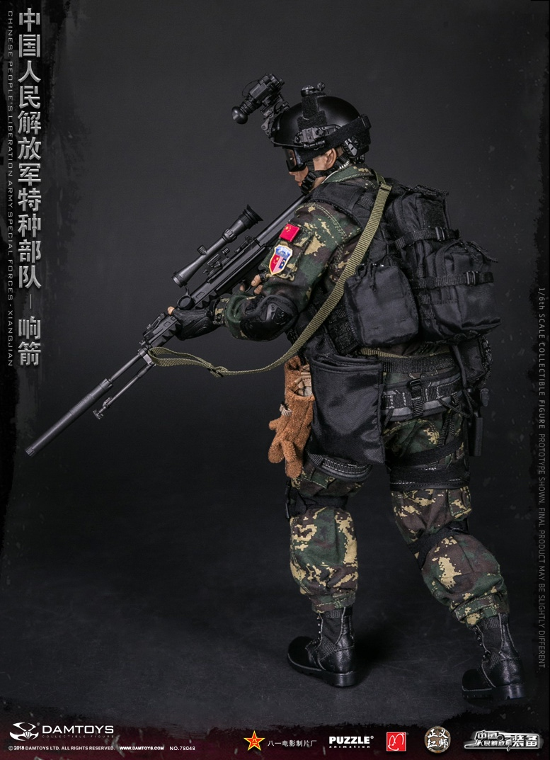 "Army - NEW PRODUCT: DAMTOYS New Products: 1/6 Special Forces of the People's Liberation Army of China - ""Singing Arrows"" Moving Figures (78048#) 17062210"