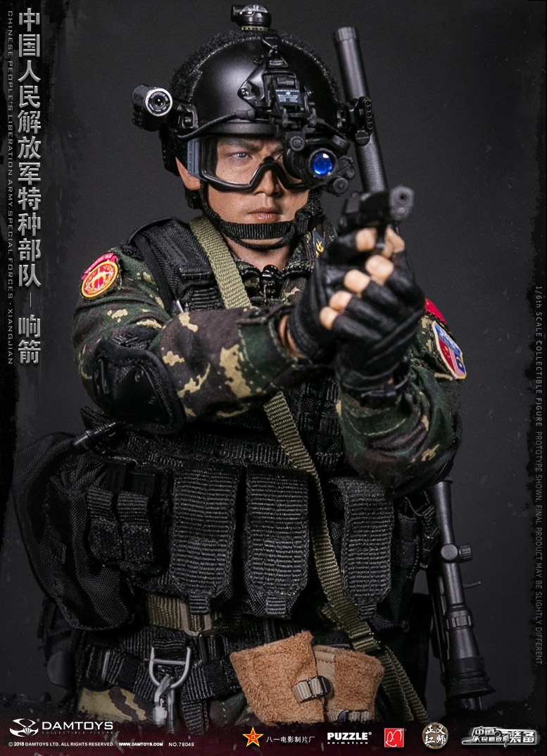 "Army - NEW PRODUCT: DAMTOYS New Products: 1/6 Special Forces of the People's Liberation Army of China - ""Singing Arrows"" Moving Figures (78048#) 17093610"