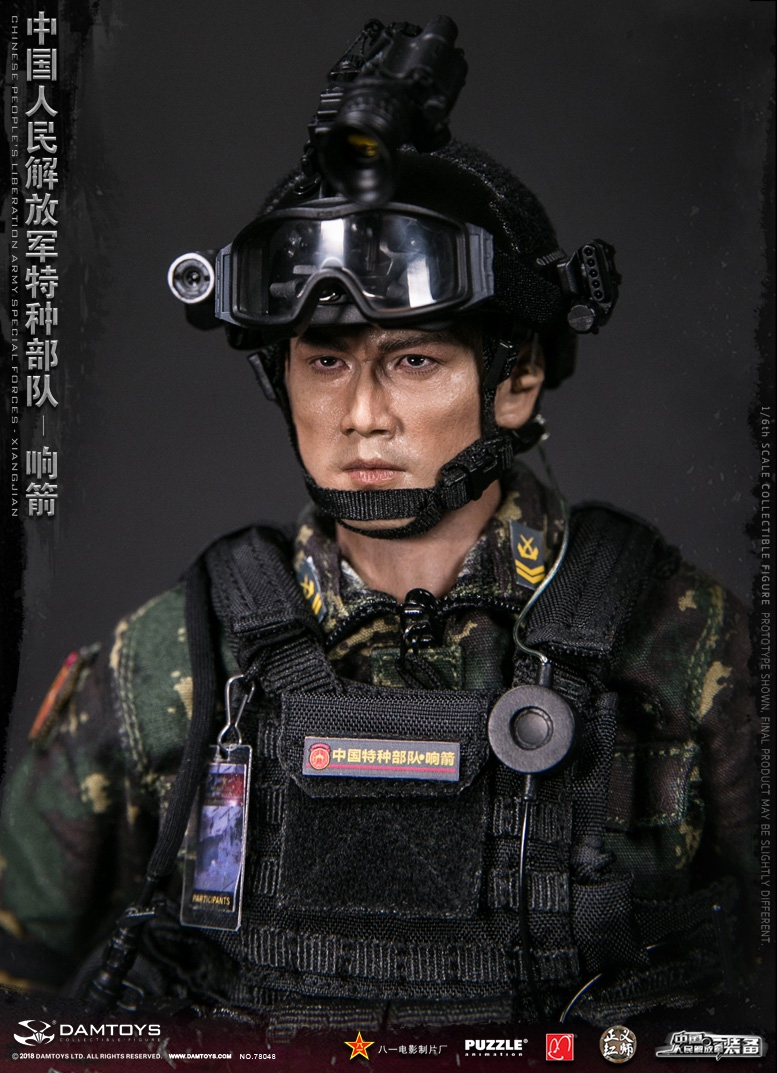 "Army - NEW PRODUCT: DAMTOYS New Products: 1/6 Special Forces of the People's Liberation Army of China - ""Singing Arrows"" Moving Figures (78048#) 17093910"