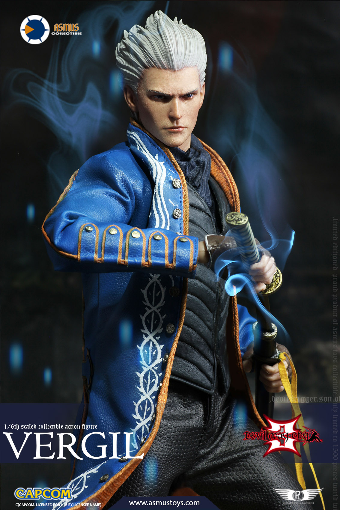 "NEW PRODUCT: Asmus Toys New: 1/6 ""Cry of Devil 3"" series - Vergil Moving figure 17264810"