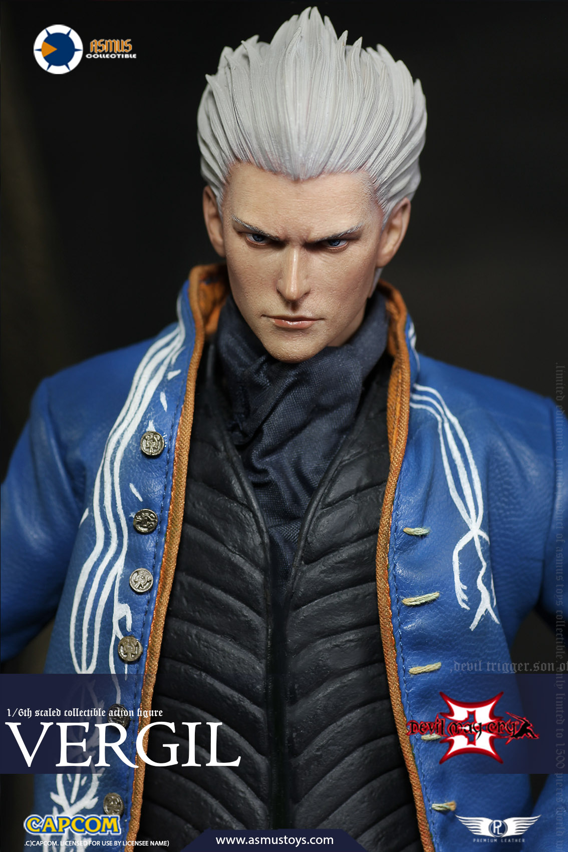 "NEW PRODUCT: Asmus Toys New: 1/6 ""Cry of Devil 3"" series - Vergil Moving figure 17265010"