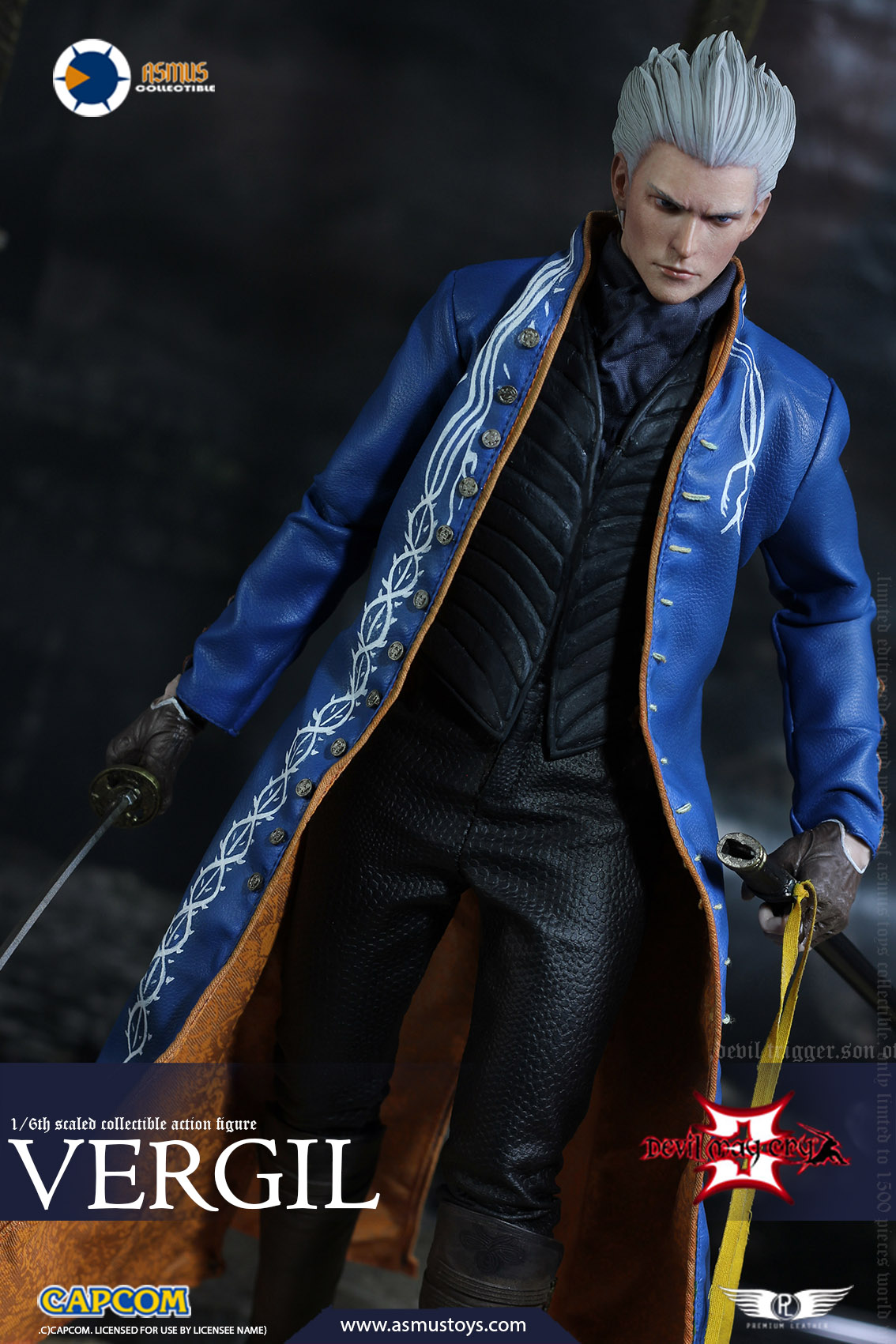 "NEW PRODUCT: Asmus Toys New: 1/6 ""Cry of Devil 3"" series - Vergil Moving figure 17265410"