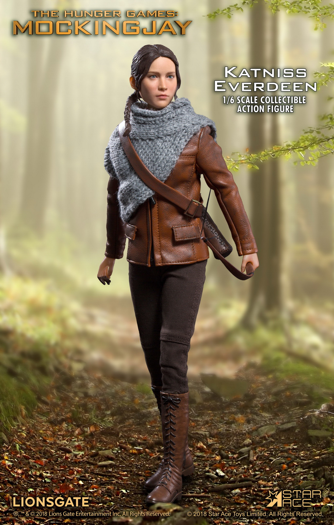 hungergames - NEW PRODUCT: Star Ace Toys New: 1/6 Hunger Games - Katniss/Katenis Leather Edition (#SA0036) 18071510
