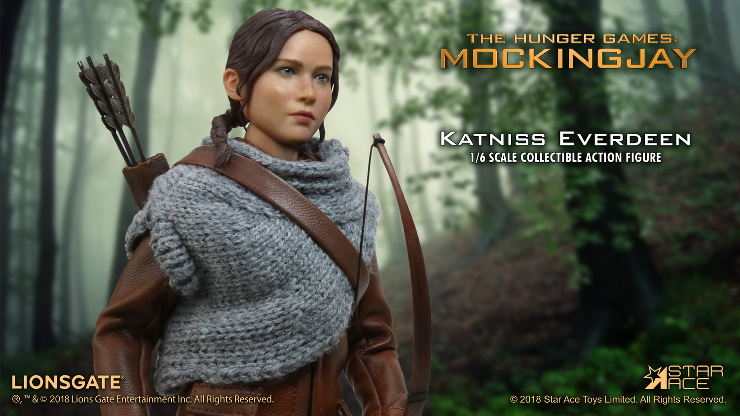 hungergames - NEW PRODUCT: Star Ace Toys New: 1/6 Hunger Games - Katniss/Katenis Leather Edition (#SA0036) 18071910