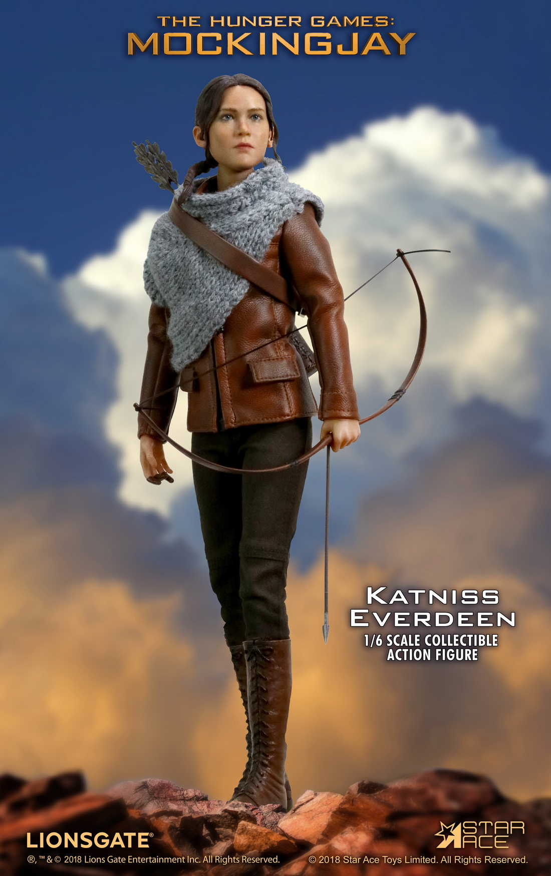 hungergames - NEW PRODUCT: Star Ace Toys New: 1/6 Hunger Games - Katniss/Katenis Leather Edition (#SA0036) 18072810