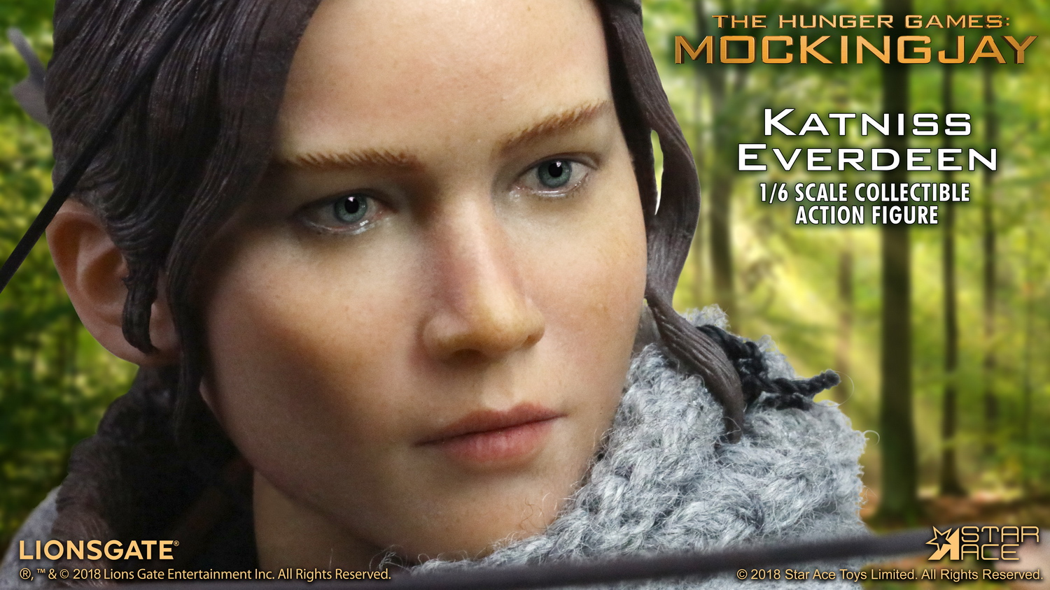 hungergames - NEW PRODUCT: Star Ace Toys New: 1/6 Hunger Games - Katniss/Katenis Leather Edition (#SA0036) 18074310