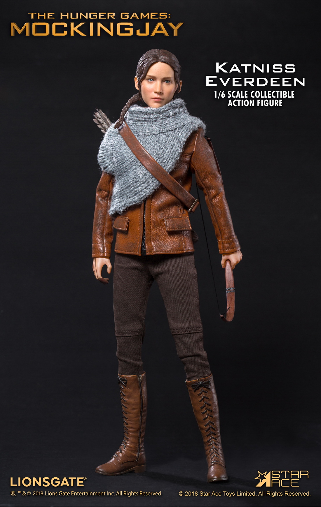hungergames - NEW PRODUCT: Star Ace Toys New: 1/6 Hunger Games - Katniss/Katenis Leather Edition (#SA0036) 18080710