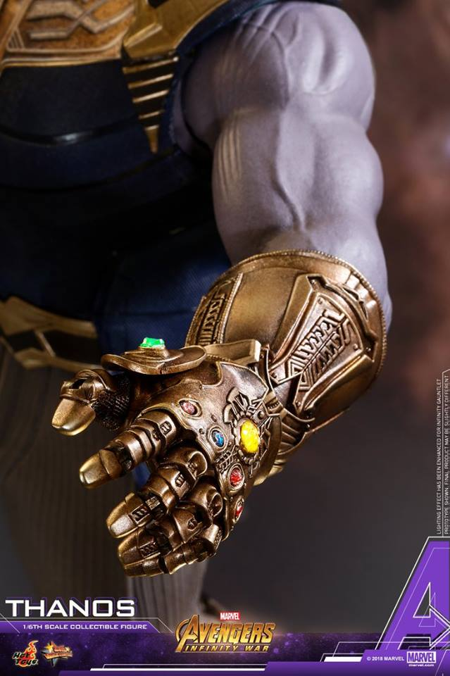 thanos - NEW PRODUCT: Hot Toys Avengers: Infinity War Thanos 19029610