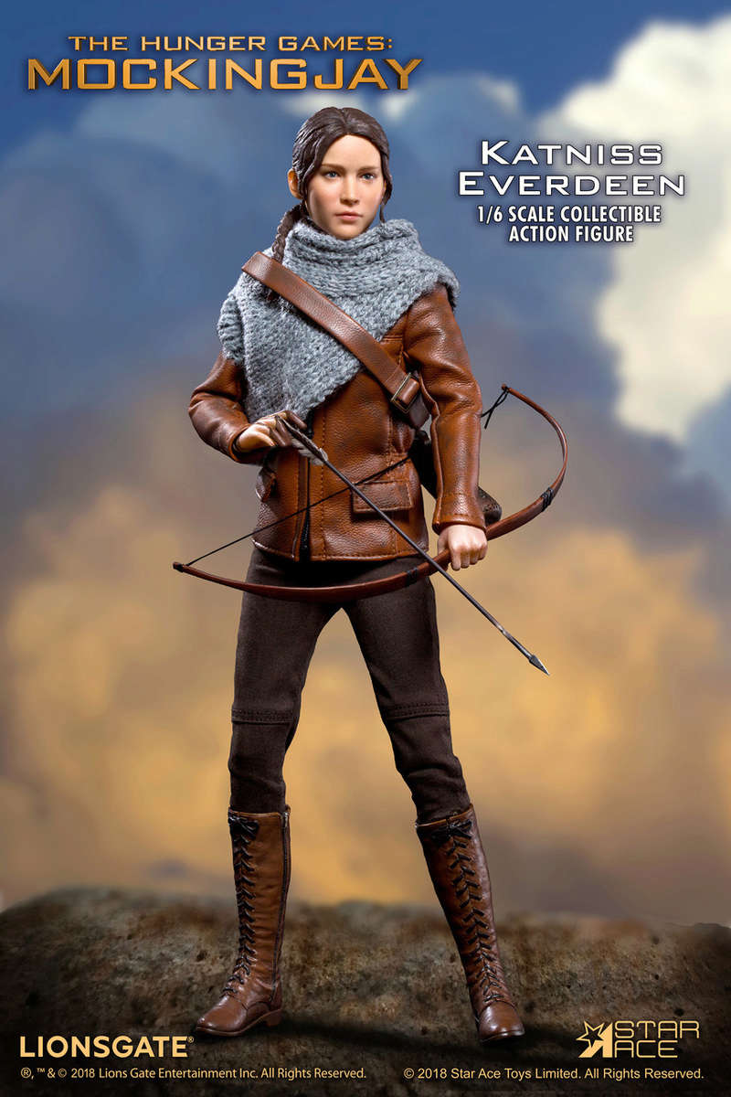hungergames - NEW PRODUCT: [SA-0036] The Hunger Games Katniss Everdeen Hunting Version Star Ace 1/6 Figures 1_584810