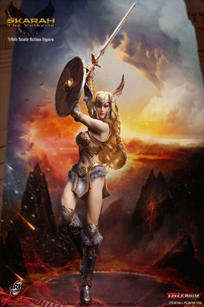 NEW PRODUCT: TBLeague Skarah, The Valkyrie 1/6 Scale Action Figure (PL2018-116) 21430210