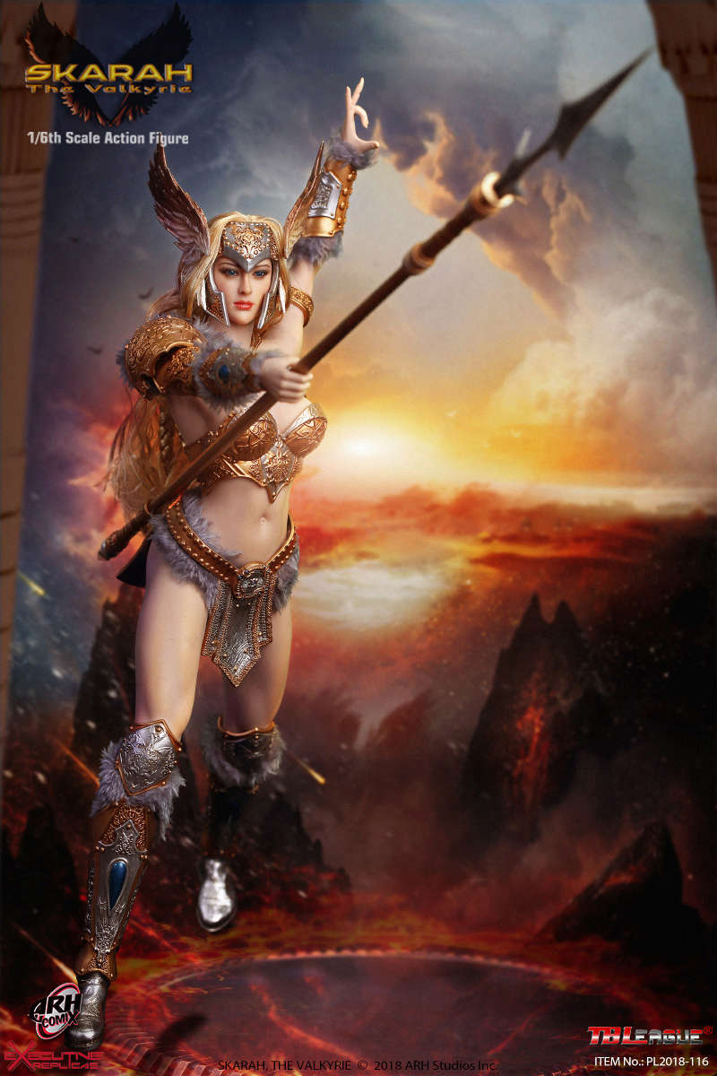 NEW PRODUCT: TBLeague Skarah, The Valkyrie 1/6 Scale Action Figure (PL2018-116) 21430310